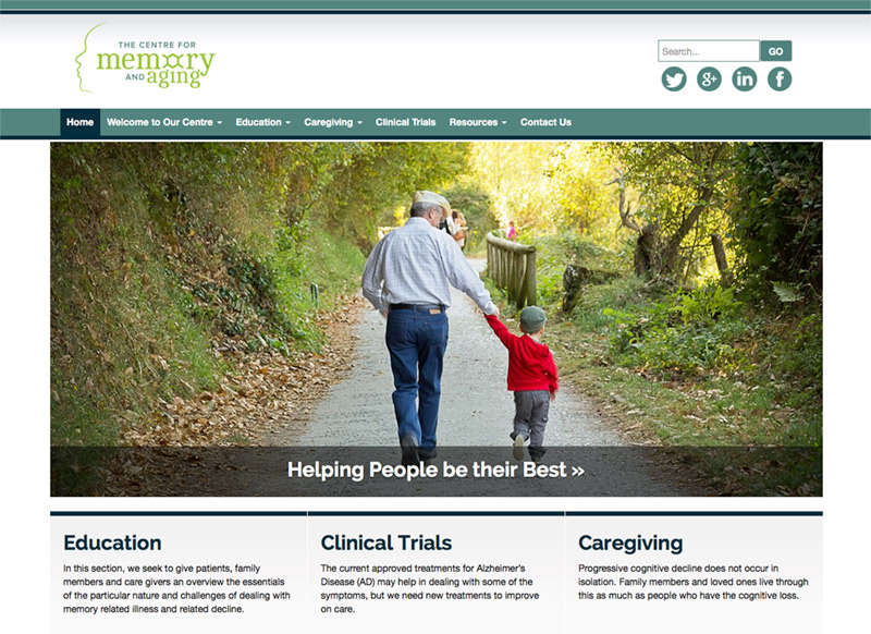 memorycentre.ca Bootstrap WordPress theme