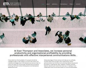 Evan Thompson and Associates website